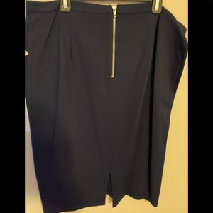 Dex Plus Size Pencil Skirt